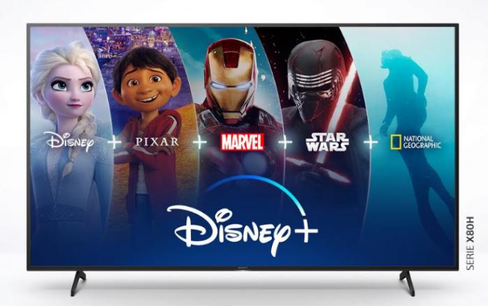 NP – Disney+ estará disponible en los televisores Sony con Android TV
