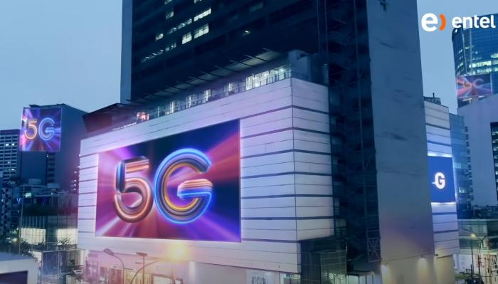 Entel lanza su 5G a través de plan 'Entel Power 5G'