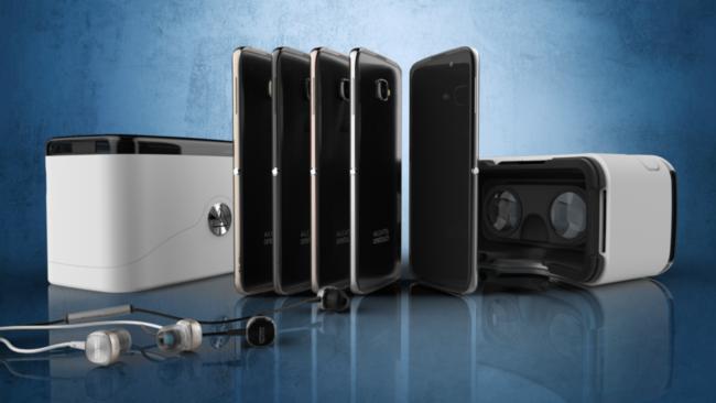 Este Alcatel usa su caja como lente de realidad virtual