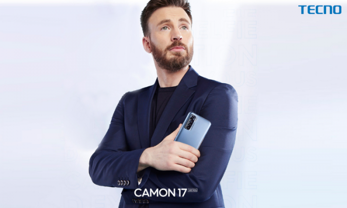 TECNO MOBILE anuncia a Chris Evans como embajador de marca