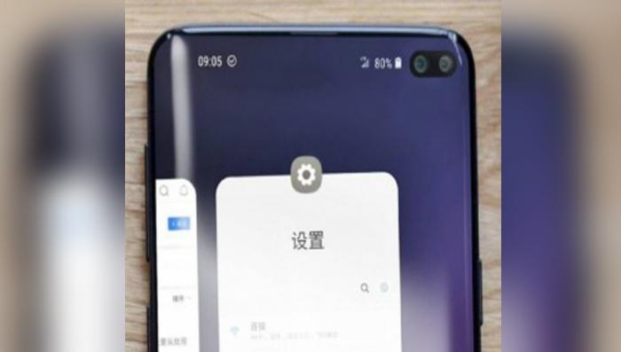 El Galaxy S10+ se filtra en foto real del dispositivo