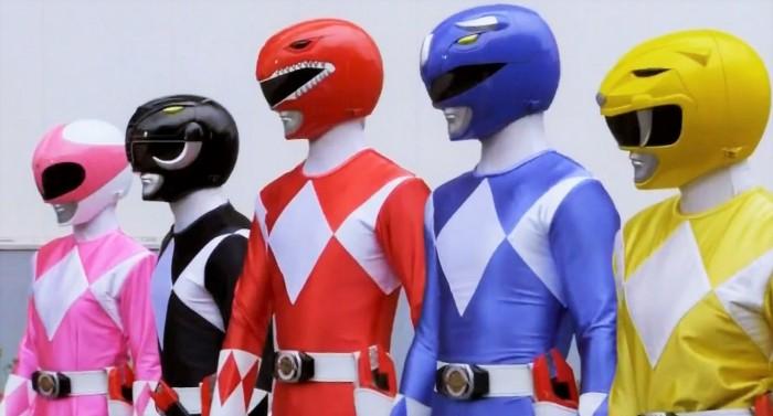Primer vistazo a los nuevos Power Rangers de la próxima película a estrenarse