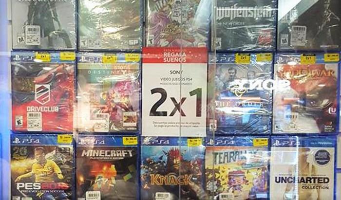Juegos de PS4 se venden a 2×1 solo por hoy