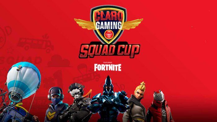 NP – CLARO Gaming Squad Cup: inicia el torneo de FORTNITE más importante del año