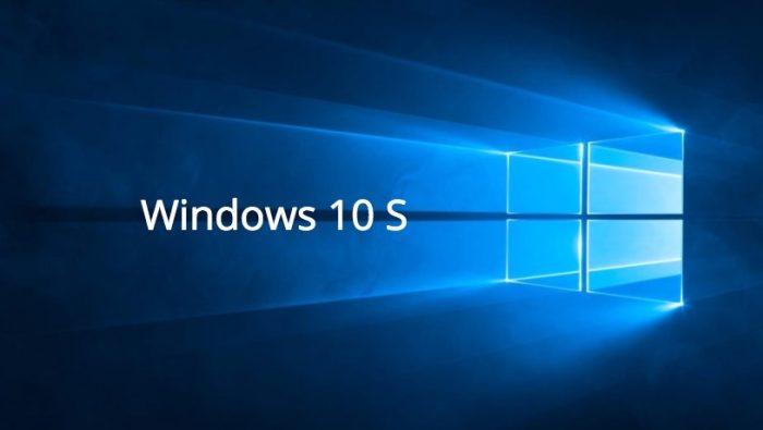 Windows 10 S desaparecerá y estará dentro de Windows 10 y sus versiones