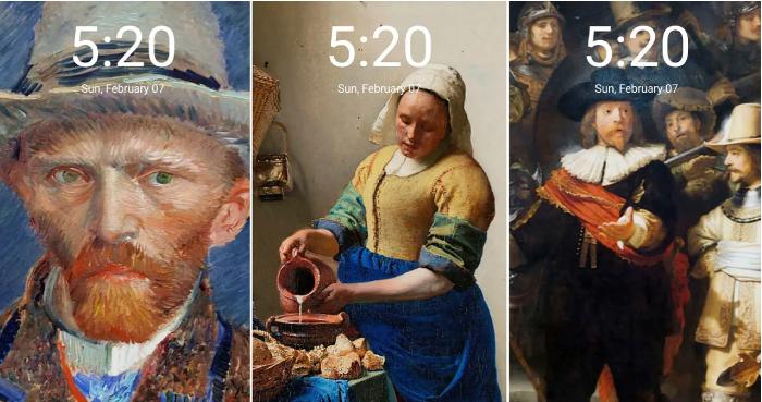 Xiaomi presenta fondos de pantalla artísticos  del Rijksmuseum de Holanda con MIUI Themes